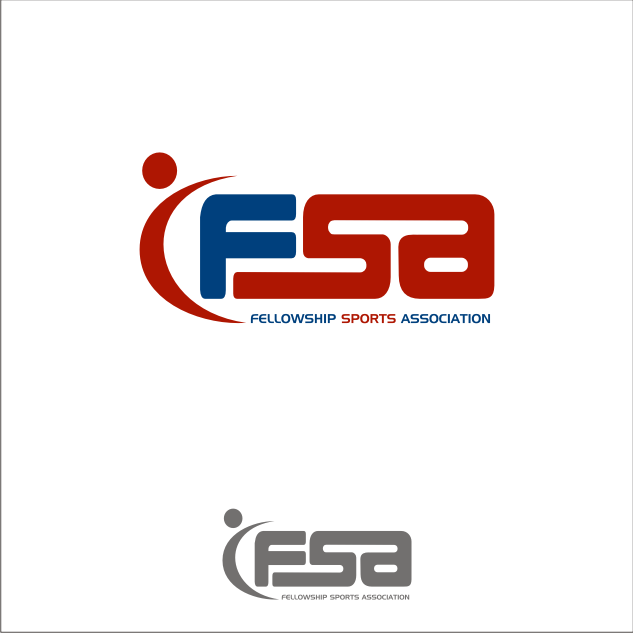 Logo Design by key - Entry No. 6 in the Logo Design Contest Fellowship Sports Association Logo Design Contest.