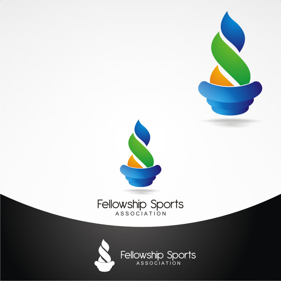 Logo Design by Private User - Entry No. 8 in the Logo Design Contest Fellowship Sports Association Logo Design Contest.