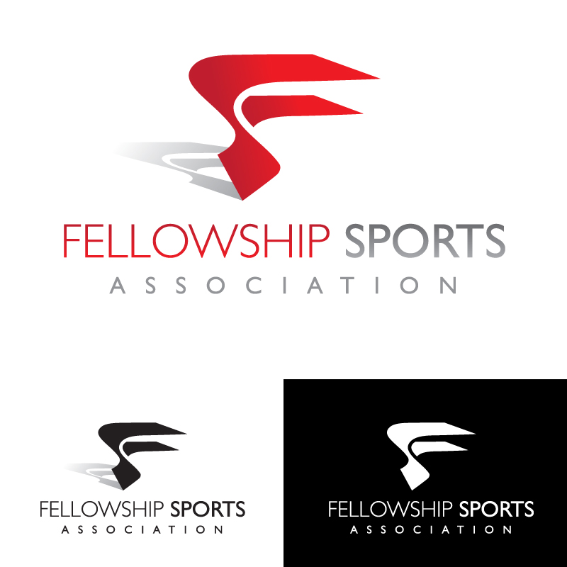 Logo Design by Number-Eight-Design - Entry No. 9 in the Logo Design Contest Fellowship Sports Association Logo Design Contest.
