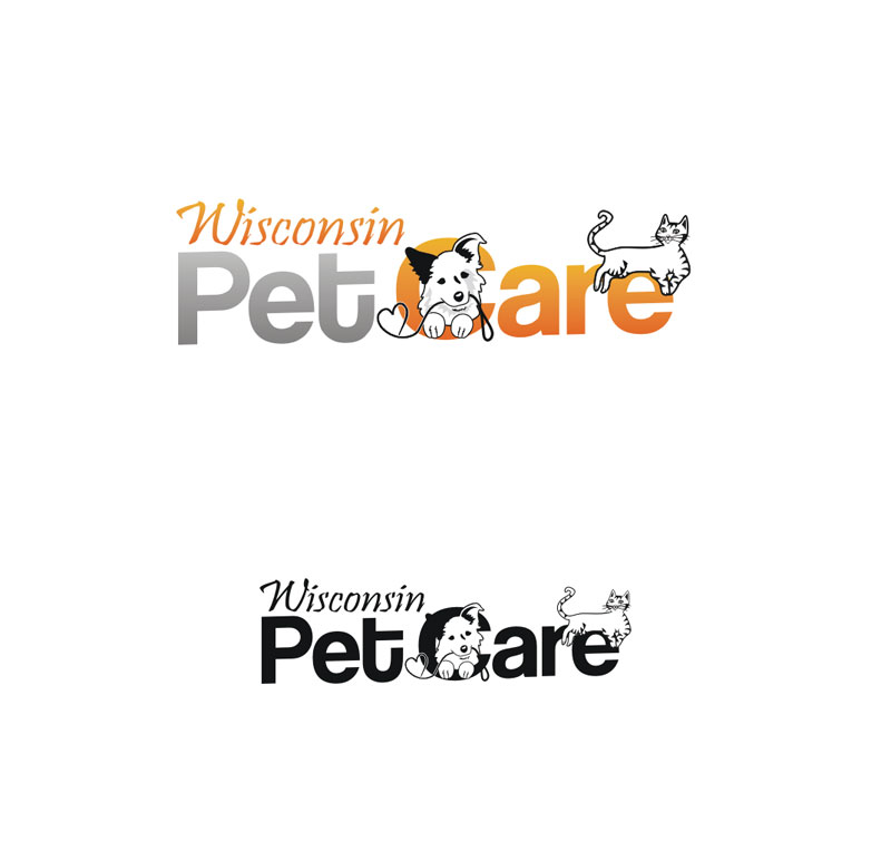 Logo Design by Junbug - Entry No. 222 in the Logo Design Contest Wisconsin Pet Care.