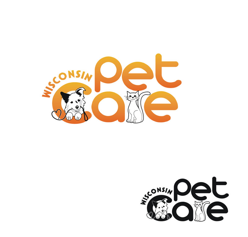 Logo Design by Junbug - Entry No. 223 in the Logo Design Contest Wisconsin Pet Care.