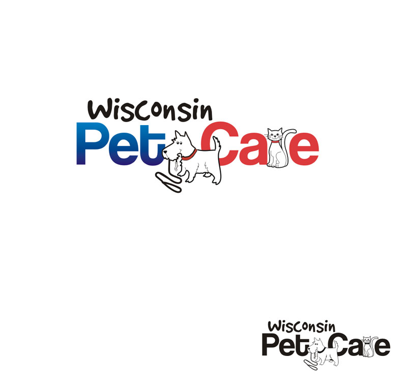 Logo Design by Junbug - Entry No. 224 in the Logo Design Contest Wisconsin Pet Care.
