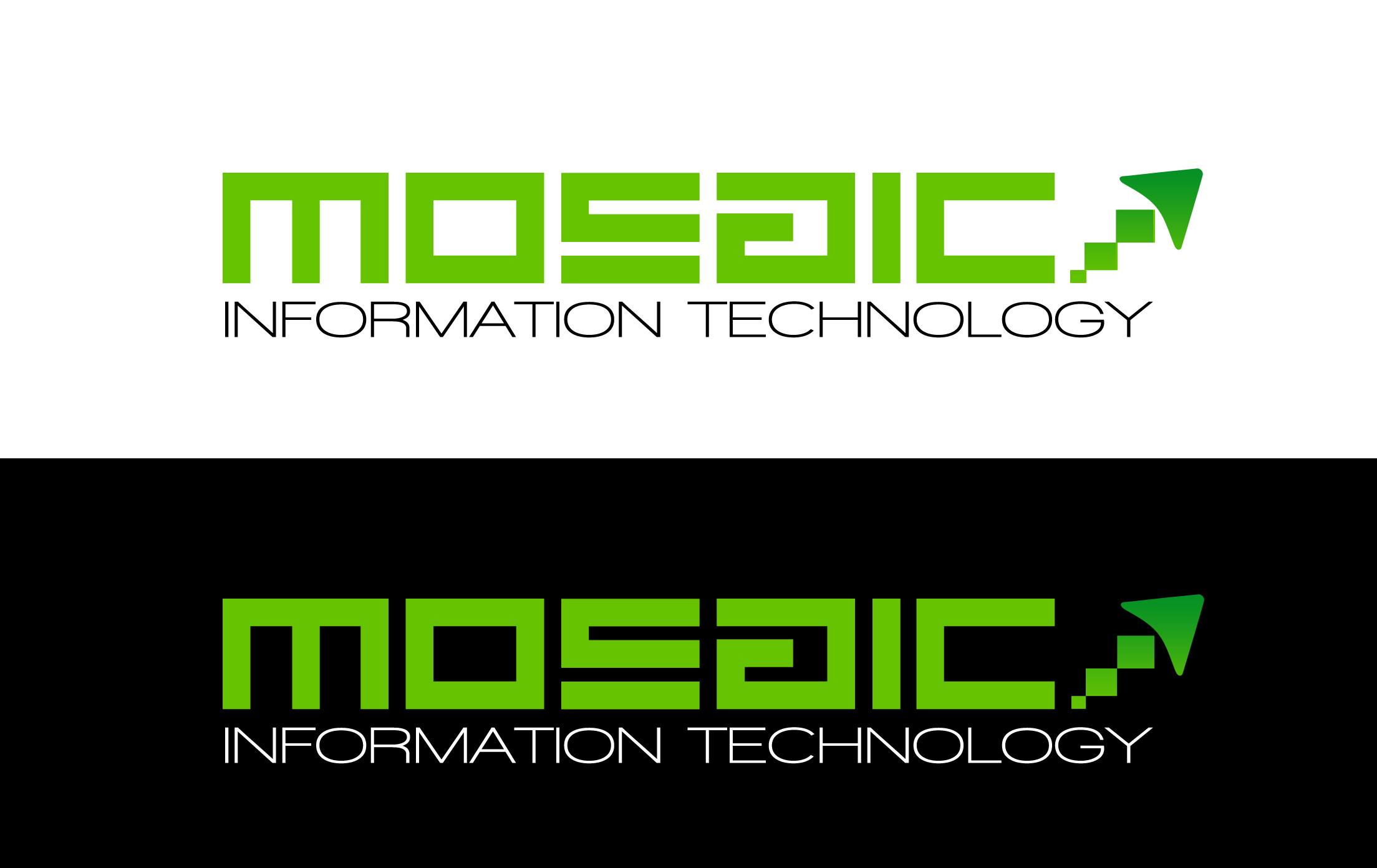 Logo Design by Lama Creative - Entry No. 62 in the Logo Design Contest Mosaic Information Technology Logo Design.