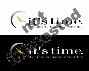 Logo Design by Private User - Entry No. 121 in the Logo Design Contest it's time..