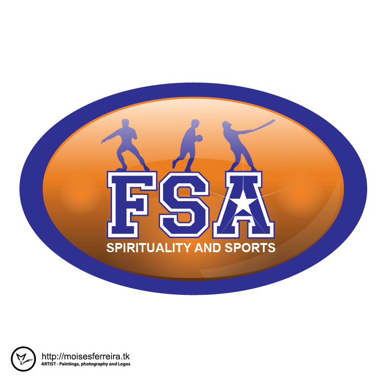Logo Design by moisesf - Entry No. 29 in the Logo Design Contest Fellowship Sports Association Logo Design Contest.