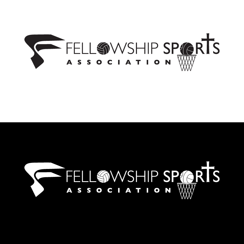 Logo Design by Number-Eight-Design - Entry No. 30 in the Logo Design Contest Fellowship Sports Association Logo Design Contest.