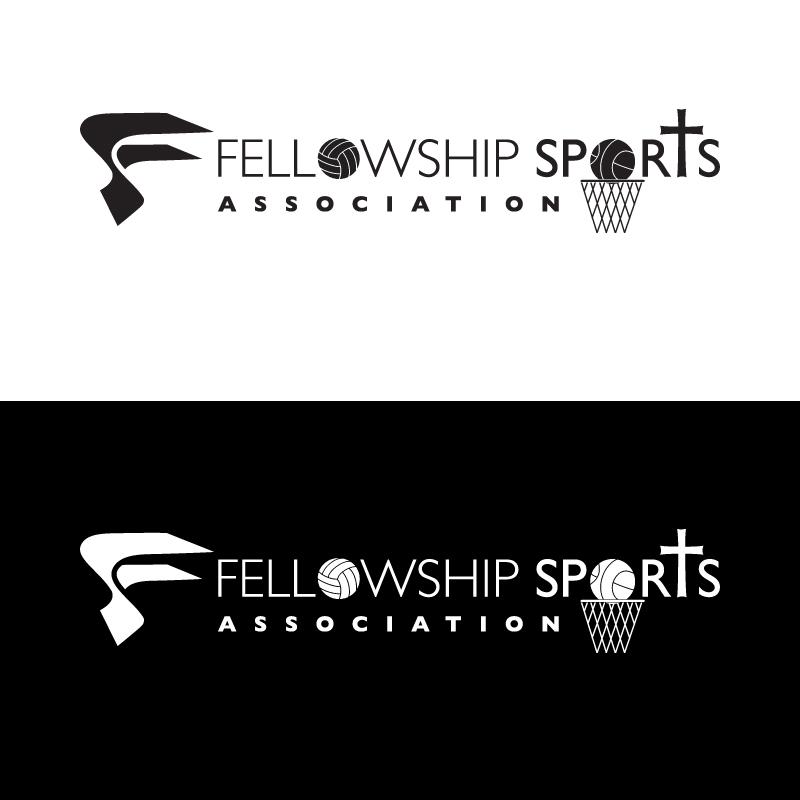 Logo Design by Number-Eight-Design - Entry No. 30 in the Logo Design Contest Fellowship Sports Association Logo Design Contest.