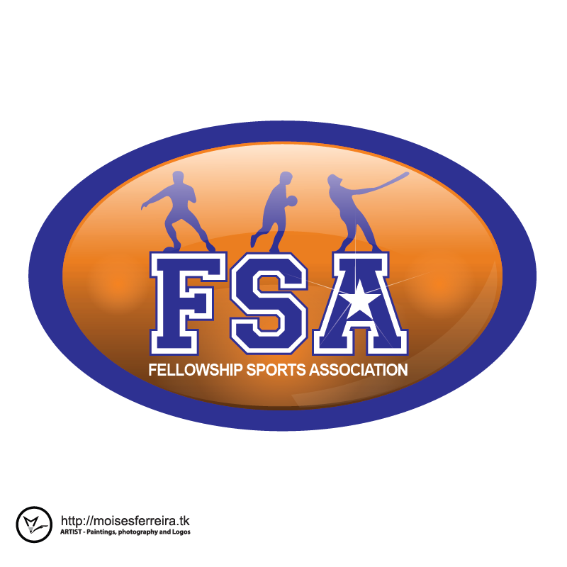 Logo Design by moisesf - Entry No. 31 in the Logo Design Contest Fellowship Sports Association Logo Design Contest.