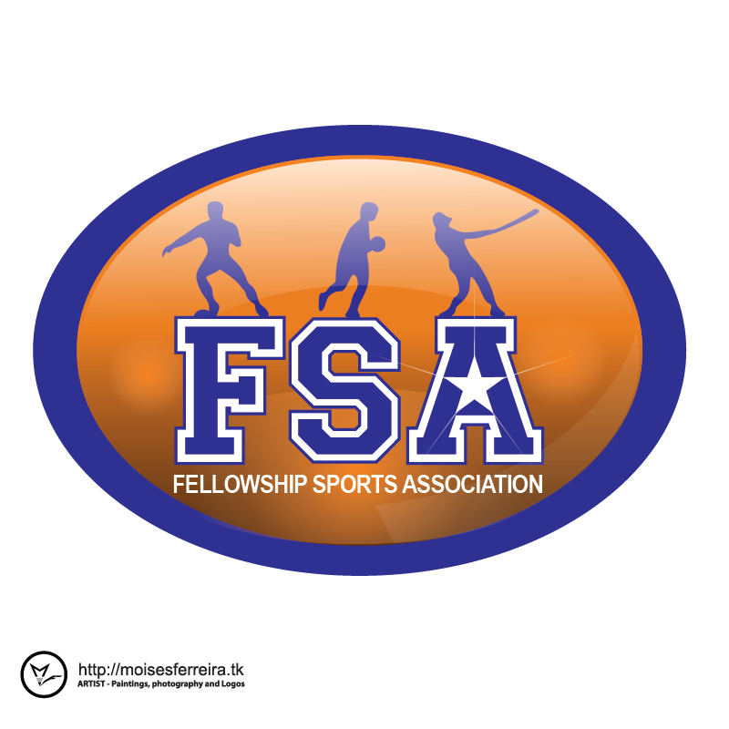 Logo Design by moisesf - Entry No. 32 in the Logo Design Contest Fellowship Sports Association Logo Design Contest.