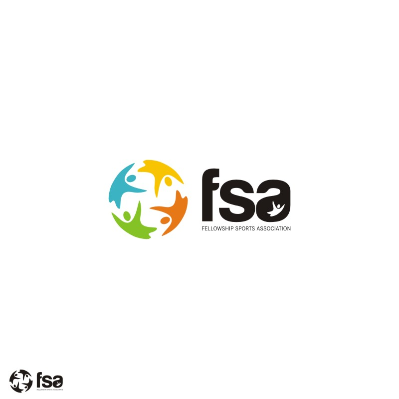 Logo Design by Private User - Entry No. 35 in the Logo Design Contest Fellowship Sports Association Logo Design Contest.