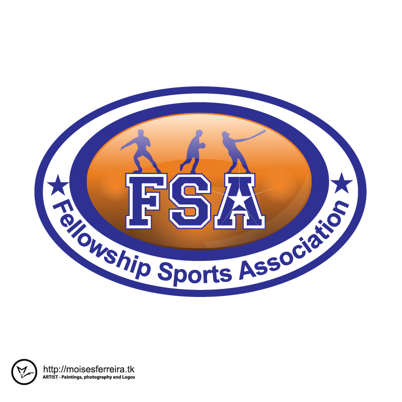 Logo Design by moisesf - Entry No. 40 in the Logo Design Contest Fellowship Sports Association Logo Design Contest.