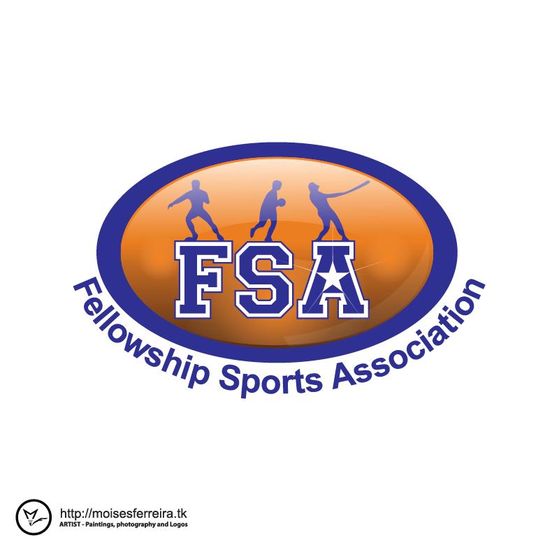 Logo Design by moisesf - Entry No. 42 in the Logo Design Contest Fellowship Sports Association Logo Design Contest.