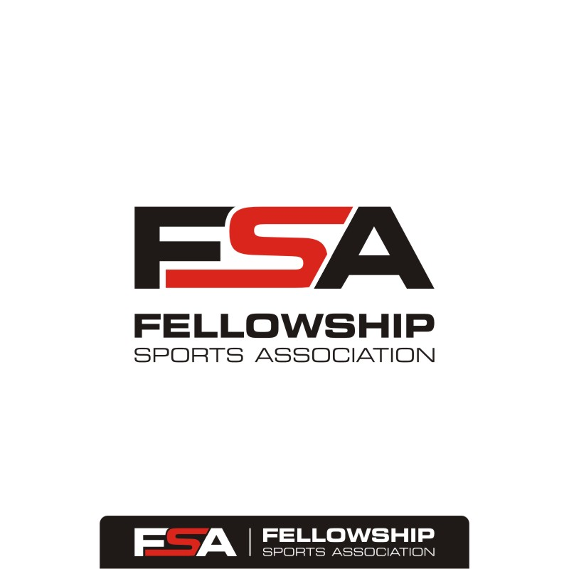 Logo Design by Private User - Entry No. 44 in the Logo Design Contest Fellowship Sports Association Logo Design Contest.