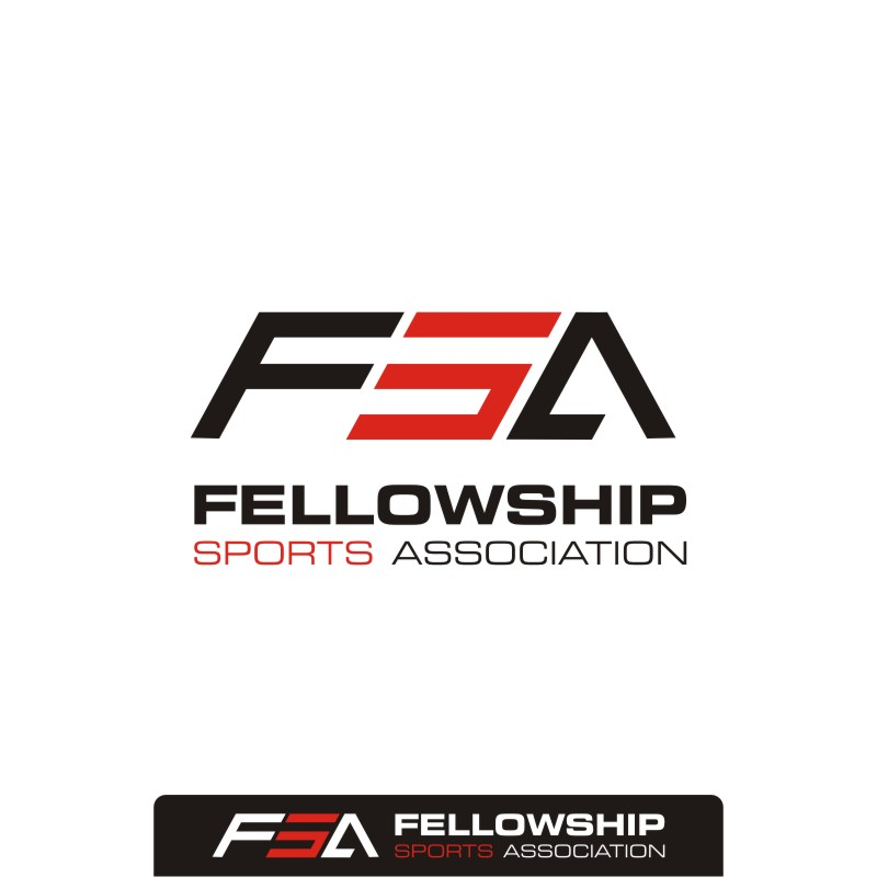 Logo Design by Private User - Entry No. 58 in the Logo Design Contest Fellowship Sports Association Logo Design Contest.