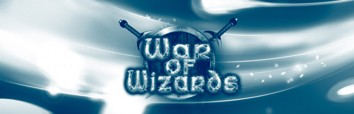 Banner Ad Design by Private User - Entry No. 67 in the Banner Ad Design Contest Banner Ad Design - War of Wizards (fantasy game).