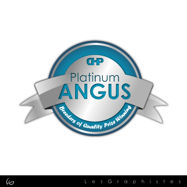 Logo Design by Les-Graphistes - Entry No. 12 in the Logo Design Contest Platinum Angus Cattle.