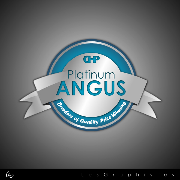 Logo Design by Les-Graphistes - Entry No. 13 in the Logo Design Contest Platinum Angus Cattle.