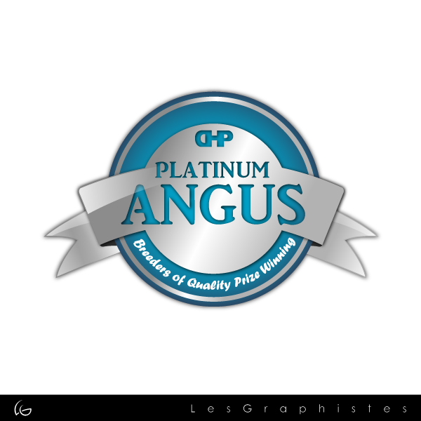 Logo Design by Les-Graphistes - Entry No. 14 in the Logo Design Contest Platinum Angus Cattle.