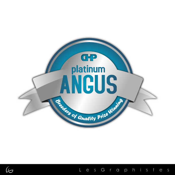 Logo Design by Les-Graphistes - Entry No. 16 in the Logo Design Contest Platinum Angus Cattle.