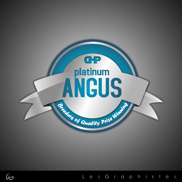 Logo Design by Les-Graphistes - Entry No. 17 in the Logo Design Contest Platinum Angus Cattle.