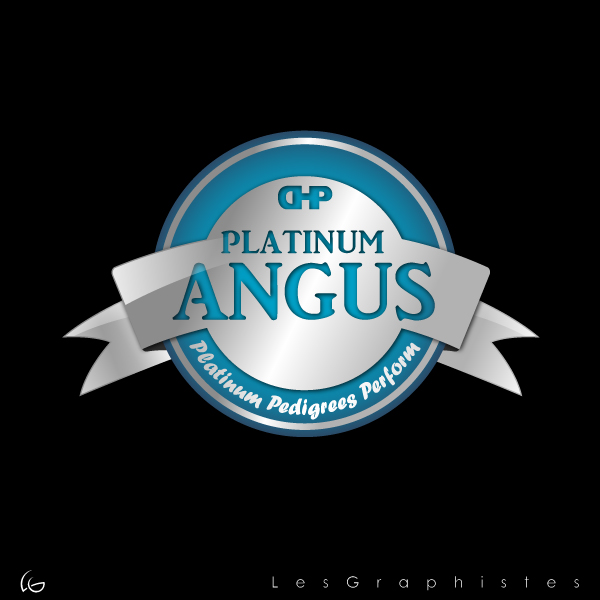 Logo Design by Les-Graphistes - Entry No. 18 in the Logo Design Contest Platinum Angus Cattle.