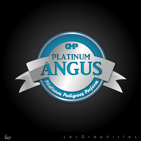 Logo Design by Les-Graphistes - Entry No. 19 in the Logo Design Contest Platinum Angus Cattle.