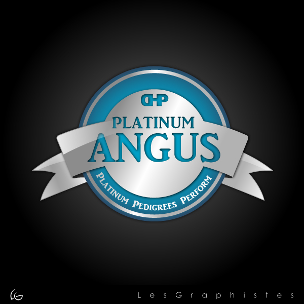 Logo Design by Les-Graphistes - Entry No. 20 in the Logo Design Contest Platinum Angus Cattle.