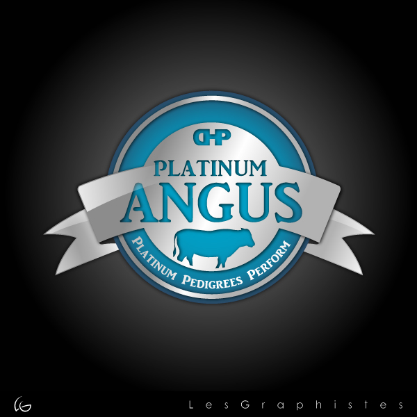 Logo Design by Les-Graphistes - Entry No. 25 in the Logo Design Contest Platinum Angus Cattle.