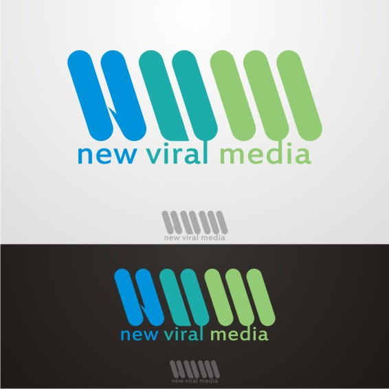 Logo Design by ben35dan - Entry No. 4 in the Logo Design Contest New Viral Media Logo.
