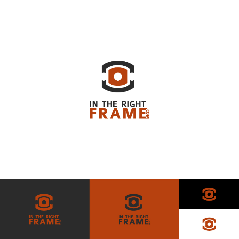 Logo Design by Alpar David - Entry No. 73 in the Logo Design Contest In The Right Frame.