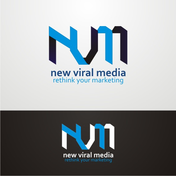 Logo Design by ben35dan - Entry No. 27 in the Logo Design Contest New Viral Media Logo.