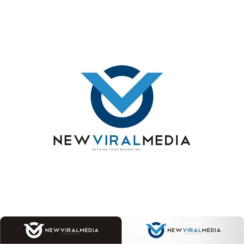 Logo Design by Private User - Entry No. 30 in the Logo Design Contest New Viral Media Logo.