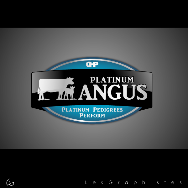 Logo Design by Les-Graphistes - Entry No. 43 in the Logo Design Contest Platinum Angus Cattle.