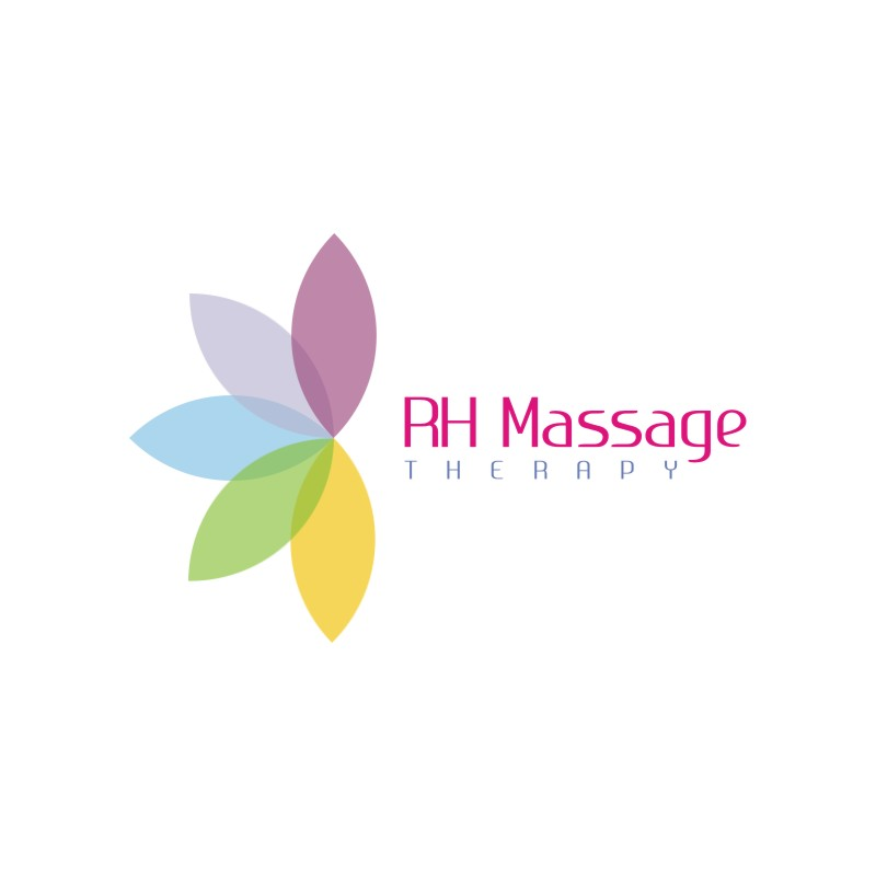 Logo Design by Private User - Entry No. 5 in the Logo Design Contest Logo for new massage therapy clinic named RH Massage Therapy.