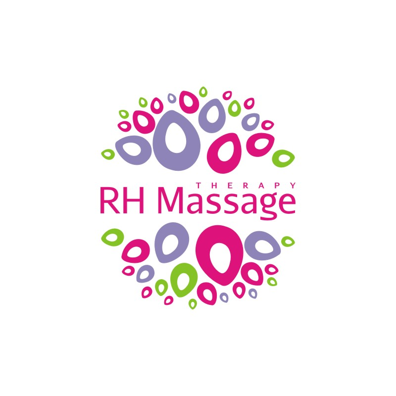 Logo Design by Private User - Entry No. 6 in the Logo Design Contest Logo for new massage therapy clinic named RH Massage Therapy.