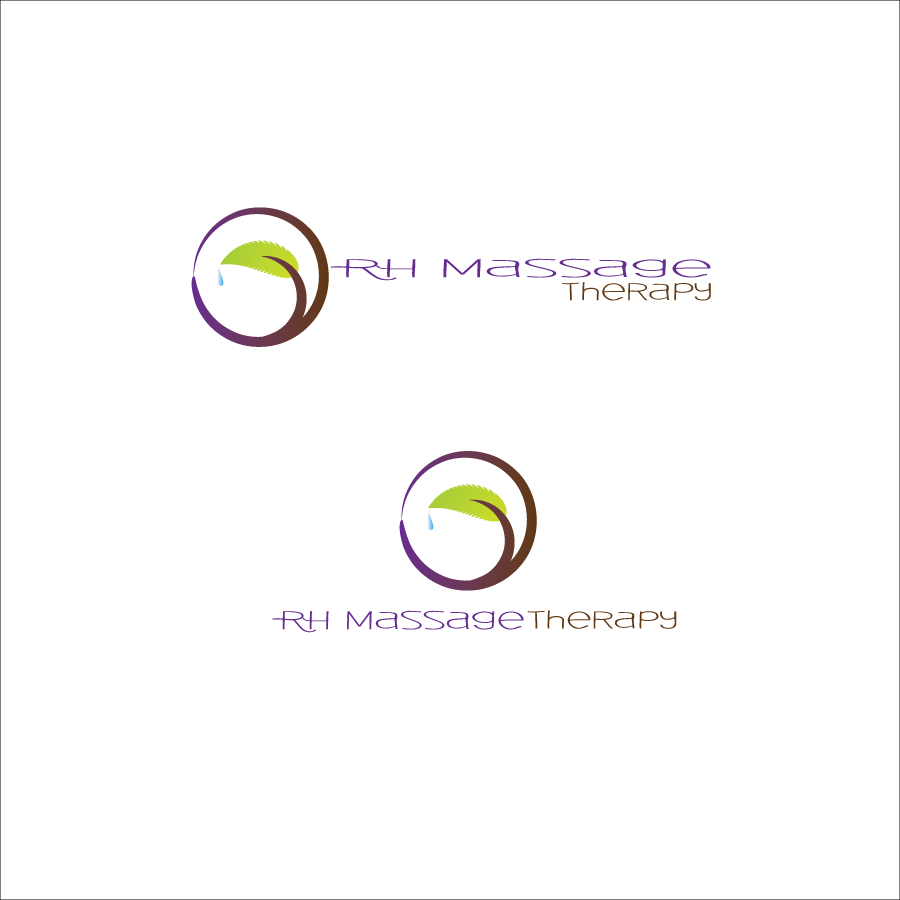 Logo Design by Saunter - Entry No. 16 in the Logo Design Contest Logo for new massage therapy clinic named RH Massage Therapy.