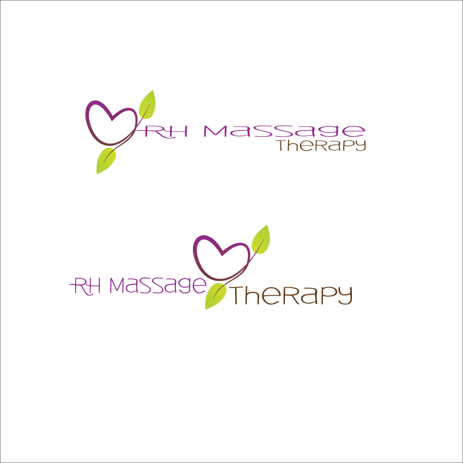 Logo Design by Saunter - Entry No. 17 in the Logo Design Contest Logo for new massage therapy clinic named RH Massage Therapy.