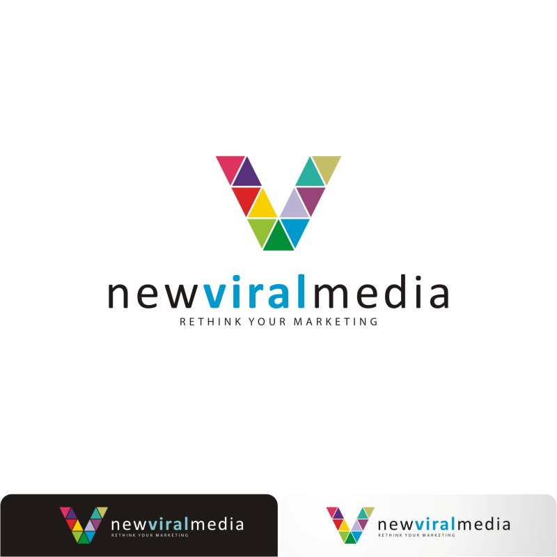 Logo Design by Private User - Entry No. 32 in the Logo Design Contest New Viral Media Logo.