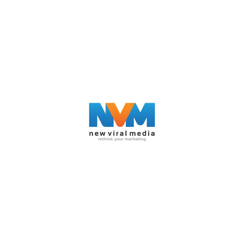 Logo Design by Aleksandar - Entry No. 36 in the Logo Design Contest New Viral Media Logo.