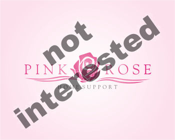 Logo Design by montoshlall - Entry No. 29 in the Logo Design Contest Pink Rose Home Support Services.