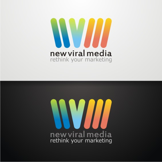 Logo Design by ben35dan - Entry No. 43 in the Logo Design Contest New Viral Media Logo.