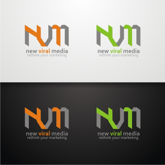 Logo Design by ben35dan - Entry No. 44 in the Logo Design Contest New Viral Media Logo.