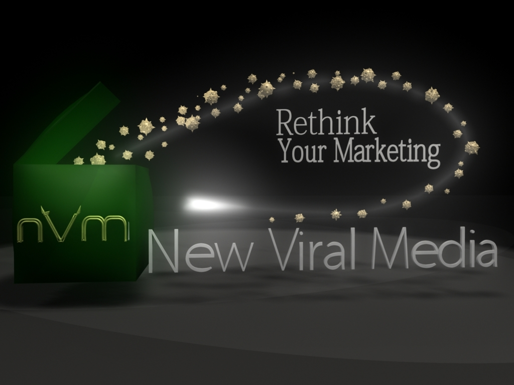 Logo Design by Brian Moelker - Entry No. 52 in the Logo Design Contest New Viral Media Logo.