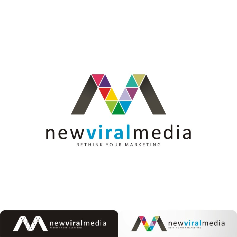 Logo Design by Private User - Entry No. 58 in the Logo Design Contest New Viral Media Logo.