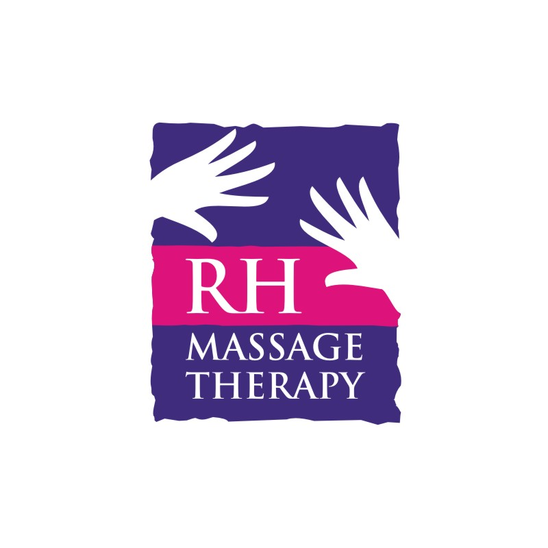 Logo Design by Private User - Entry No. 31 in the Logo Design Contest Logo for new massage therapy clinic named RH Massage Therapy.