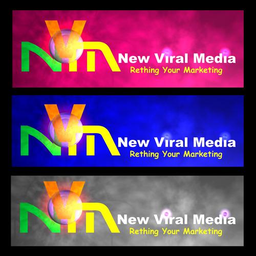 Logo Design by Dedy Iskandar - Entry No. 66 in the Logo Design Contest New Viral Media Logo.