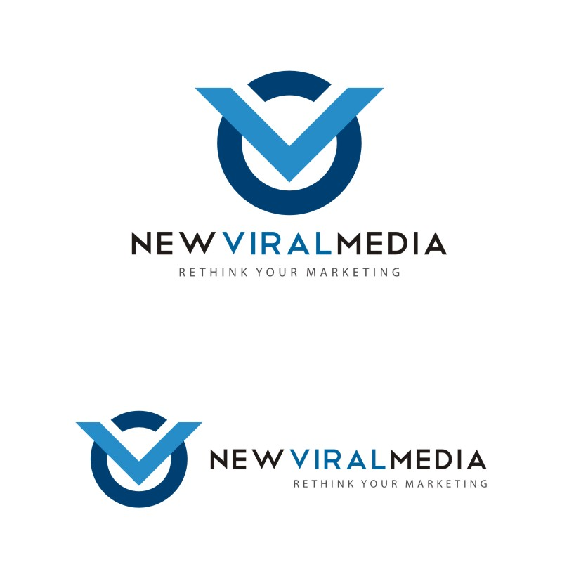 Logo Design by Private User - Entry No. 67 in the Logo Design Contest New Viral Media Logo.