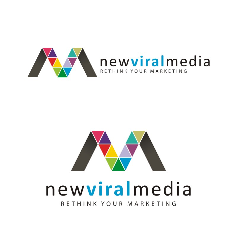 Logo Design by Private User - Entry No. 68 in the Logo Design Contest New Viral Media Logo.