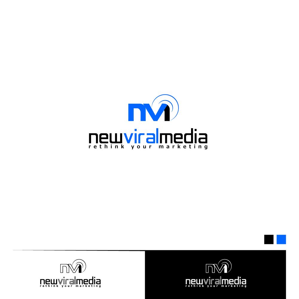 Logo Design by zesthar - Entry No. 75 in the Logo Design Contest New Viral Media Logo.
