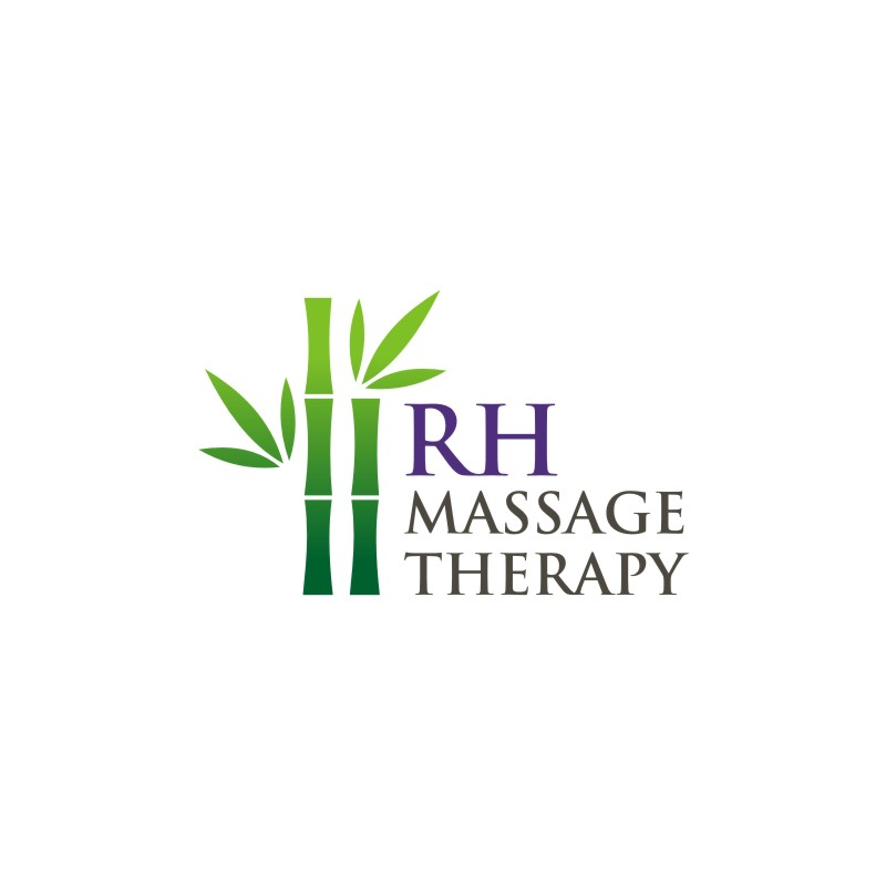 Logo Design by Private User - Entry No. 38 in the Logo Design Contest Logo for new massage therapy clinic named RH Massage Therapy.